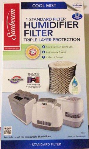 Sunbeam Cool Mist Humidifier Filter Type D (SF221) NewBorn, Kid, Child, Childern, Infant, Baby (Sunbeam D Filter compare prices)