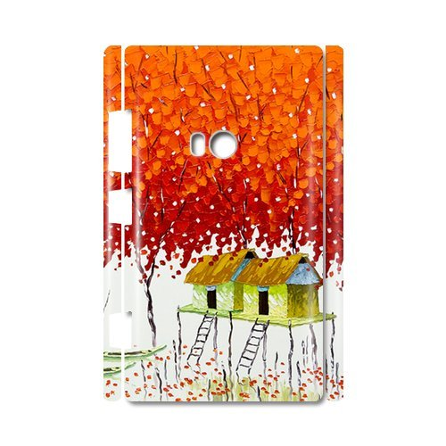 Fairy Tale World Painting Tree Of Life By Vietnam Artist 100% Plastic 3D Case For Nokia Lumia 920