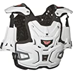 Fly Racing Adventure Pro Adult Roost Deflector Off-Road/Dirt Bike Motorcycle Body Armor - White / One Size