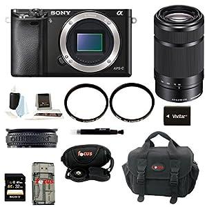 Sony ILCE6000B ILCE6000/B ILCE-6000B Alpha a6000 24.3 Interchangeable Lens Ca...