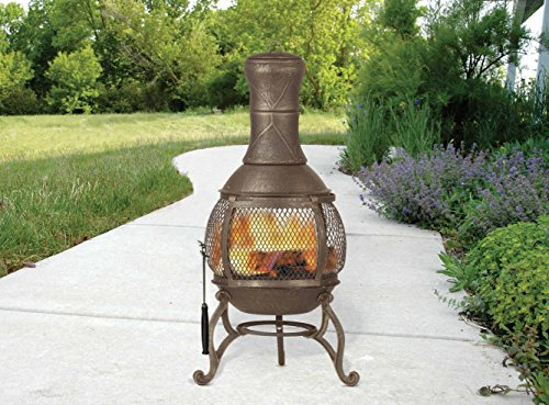 Deckmate-Corona-Outdoor-Chimenea-Fireplace-Model-30075