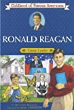 img - for Ronald Reagan: Young Leader (Childhood of Famous Americans) book / textbook / text book