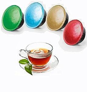 CiaoCaffè 50 Lemon Tea Capsules 100% compatibles LAVAZZA A MODO MIO Pods
