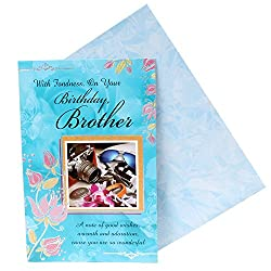 Giftacrossindia Birthday Greeting Card For Brother