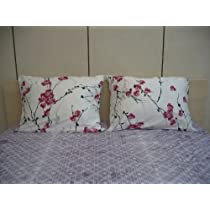 DaDa Bedding Floral Cotton Sheet Set - Fitted Sheet and Pillow Cover
