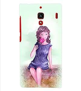 ColourCraft Girly Back Case Cover for XIAOMI REDMI 1S
