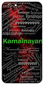 Kamalnayan (One With Beautiful Lotus-Type Eyes) Name & Sign Printed All over customize & Personalized!! Protective back cover for your Smart Phone : Moto G2 ( 2nd Gen )