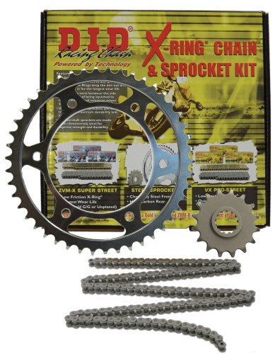 D.I.D (Dkk-013) 520Vx2 Steel Chain And 14 Front/45 Rear Tooth Sprocket Kit