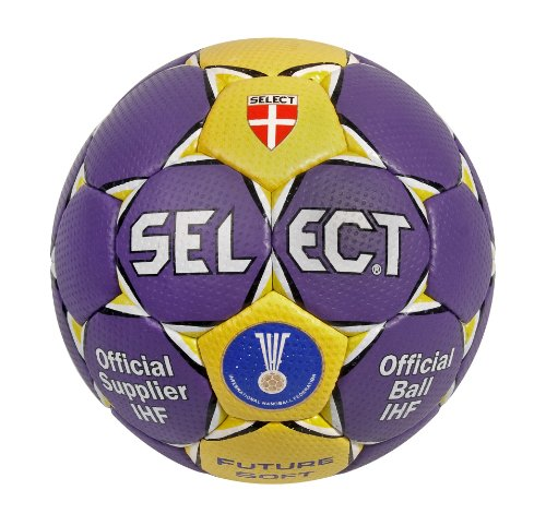 Select Handball Future Soft Farbe: Lila/Gelb