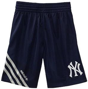 MLB Youth New York Yankees Celebration Short (Dark Navy, Large)