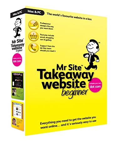 Mr Site Takeaway Website Beginner (PC/Mac)