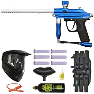 Buy Azodin Kaos Paintball Marker Gun 3Skull Mega Set - Blue Silver by 3Skull