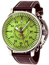 Aeromatic 1912 Automatic 24 Hour Watch, Luminous Dial and Crown Guard A1396