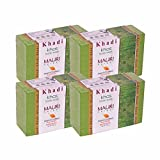 Khadi Mauri Khas Soap Pack of 4 Ayurvedic Natural Handcrafted Herbal Soaps