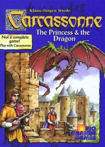Carcassonne - Princess and Dragon Expansion