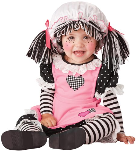 California Costumes Pretty Pink Rag Doll Baby Costume