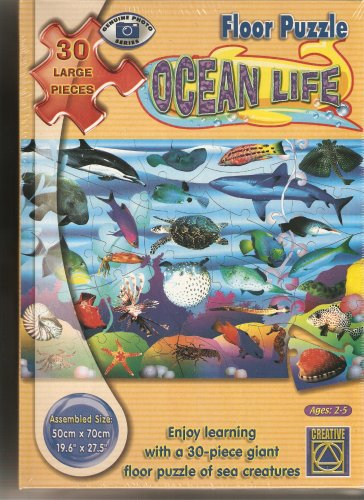 Picture of Fun Learning Advantage - Ocean Life Floor Puzzle - 30 Large Pieces (B000HYONNY) (Floor Puzzles)