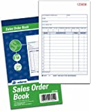 Adams Sales Order Books, 2-Part, Carbonless, 4.19 x 7.19 Inches, White/Canary, 50 Sets per Book, 3 Books per Pack (DC4705-3)