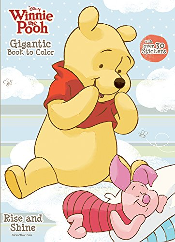 Bendon Publishing Winnie the Pooh Gigantic Book to Color