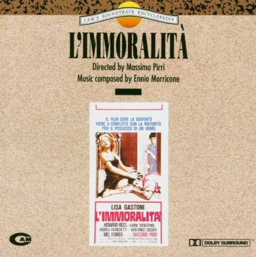 Original album cover of L'immoralita (Morricone) [Soundtrack] [Import] [Audio CD] Original Soundtrack by Massimo Pirri