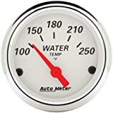 Auto Meter 1337 Arctic White Water Temperature Gauge