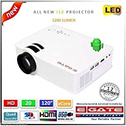 EGate L12 Smart Projector from Egate (White)