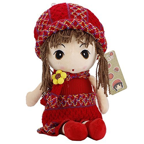 coffled ® Cute Little Princess Doll Baby Gril Amazing Plush Toy Birthday Gift- 15.7 Inch (Hobbit Popcorn compare prices)