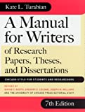 A Manual for Writers of Research Papers, Theses, and Dissertations: Chicago Style for Students and Researchers eBook: Kate L. Turabian, Joseph M. Williams, Gregory G. Colomb, Wayne C. Booth
