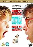 Honey, I Shrunk The Kids / Honey, I Blew Up The Kid / Honey, We Shrunk Ourselves [DVD]