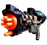 水鉄砲 強力バズーカ 【飛距離10M】 ポンプアクション式 シルバー
