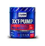 USN 3XT-PUMP, All-In-One Intense Pre-Workout Stimulant, Fruit Punch, 40 Servings