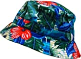 KBETHOS Floral Bucket Hat Cap - ROYAL BLUE