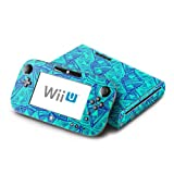 Tribal Beat Design Protective Decal Skin Sticker (High Gloss Coating) for Nintendo Wii U Console + Controller Device (Set)