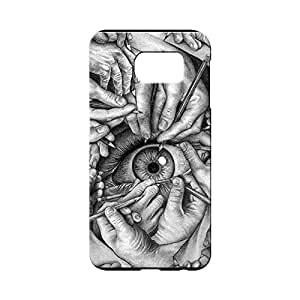 BLUEDIO Designer 3D Printed Back case cover for Samsung Galaxy S6 - G4707