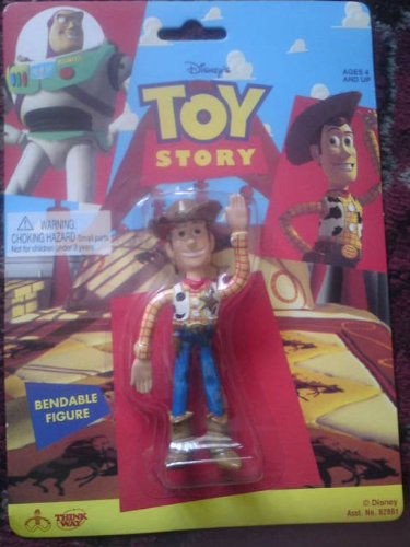 Original Toy Story Bendable Woody Figure