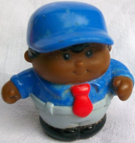 Picture of Mattel Fisher Price Little People African American Boy Replacement Figure Doll Toy (B002IR9JNW) (Mattel Action Figures)