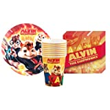 Alvin and the Chipmunks Party Supplies Pack Including Plates Cups and Napkins  8 Gu