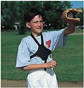 Markwort C-Flap with Little League Sticker for the Batter, White by Markwort