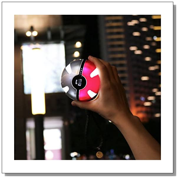 Esna? Pokemon GOTMPower Bank Pokemon GO For Use With Pok?mon GO power bankNEW Arrivals Action Figures Go Ball Power Bank 10000mAh Chager With LED Light For Go AR Games