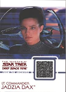 Quotable Star Trek Deep Space Nine C13 Dax Costume Card Gray Variant