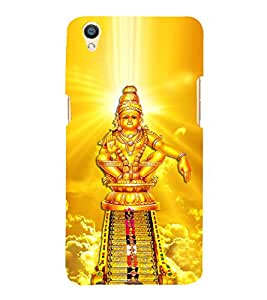 Lord Ayyappa 3D Hard Polycarbonate Designer Back Case Cover for Oppo F1 Plus