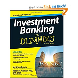 investment banking for dummies matthew krantz. Black Bedroom Furniture Sets. Home Design Ideas