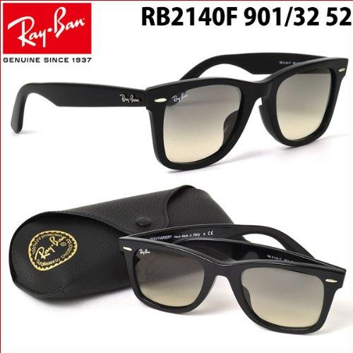 【レイバン国内正規品販売認定店】世界的に有名なRay-Ban RayBan(レイバン)ウェイファーラー フルフィッティングモデル RB2140F 901/32 52