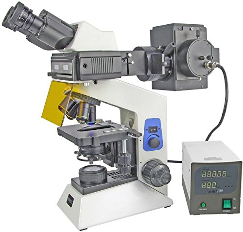 Unico G506T Epi-Fluorecence Trinocular Microscope W/ Seidentopf Head, Paired 10X Eyepiece,Infinity