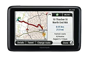 TomTom GO LIVE 2535M 5-Inch Bluetooth GPS Navigator with HD Traffic, Lifetime Maps, and Voice Recognition(Discontinued by Manufacturer)