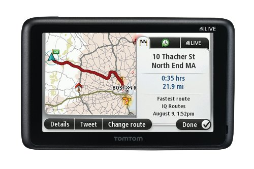 TomTom GO LIVE 2535M 5-Inch Bluetooth GPS Navigator with HD Traffic, Lifetime Maps, and Voice Recognition