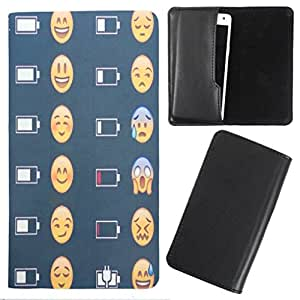 DooDa - For Karbonn S12 Delite PU Leather Designer Fashionable Fancy Case Cover Pouch With Smooth Inner Velvet