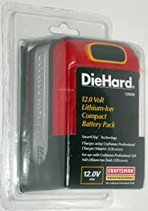 Craftsman Professional 12.0 Volt Diehard Lithium-ion Compact Battery Pack
