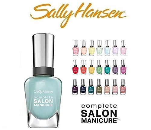 Lot-of-10-Sally-Hansen-Salon-Manicure-Finger-Nail-Polish-Color-Lacquer-All-Different-Colors-No-Repeats