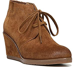 Franco Sarto Women's Austine Ankle Boot,Cognac Barnch Leather,US 5.5 M